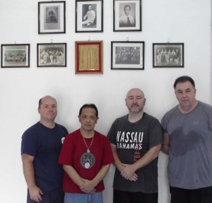 Mark Wiley, Sifu Alex Co, Russ Smith, Peter Schofield