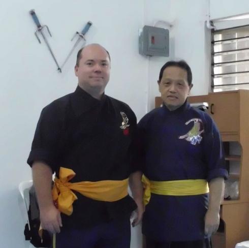 Sifu Mark Wiley & Sigong Alex Co