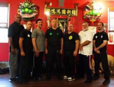 Sifu Norman Chin, Mark Wiley at Beng Hong